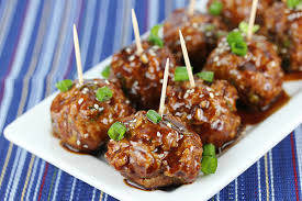 hoisin meatballs recipe blogchef net