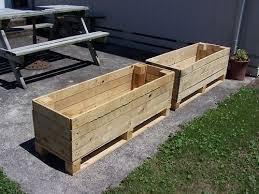 best 25 pallet planter box ideas on pinterest single wooden