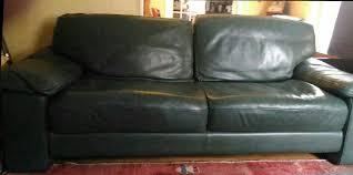 canap cuir vert achetez canapé cuir vert 3 occasion annonce vente à chalon sur