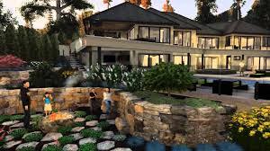 3d Home Landscape Design Free Download by Animated 3d Design Presentation Exterior Arch Viz 3d Landscape