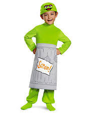 Clearance Toddler Halloween Costumes Oscar Grouch Costume Ebay