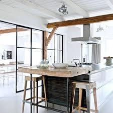 deco de cuisine cuisine avec bar pour manger cuisine avec ilot central pour manger