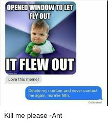Fly Out Memes - opened window to let fly out it flew out love this meme delete my