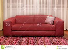 Burgundy Living Room Furniture by Burgundy Couch Stock Photo Image 32819860