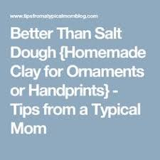 salt dough recipe and simple salt dough this easy salt