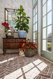 Brick Floor Kitchen by 93 Best Flooring Images On Pinterest Brick Flooring Brick