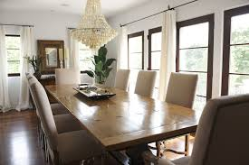 Lillian August Dining Tables Capiz Chandelier Transitional Dining Room Lillian August