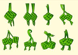 food vector ketupat traditional food vector pack download free vector art