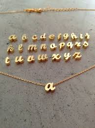 gold necklace with letter images Hey i found this really awesome etsy listing at https www etsy jpg