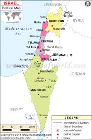 political map of israel my proposed solution to the israel palestine border problem