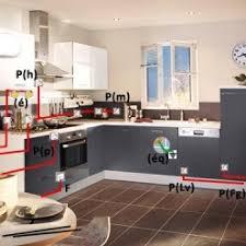 alimentation electrique cuisine organisation des réseaux d eau et d électricité de sa cuisine