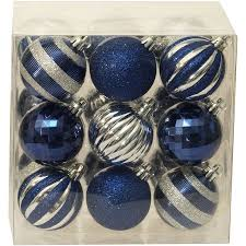 time ornaments traditional 60mm shatterproof