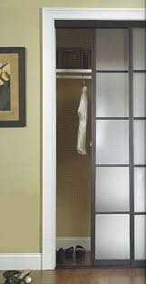 Folding Closet Door by Furniture Folding Closet Doors With Cloth And Hnger Stick With