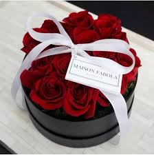 boxed roses best 25 box roses ideas on