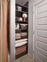 bathroom closet storage ideas bathroom closet shelving ideas 7773