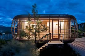 small guest house designs small prefab houses small house plans fincube sustainable transportable house idesignarch