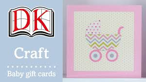 how to make a handmade baby shower card youtube