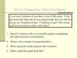 direct proportionnotes
