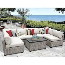 Overstock Patio Chairs Overstock Outdoor Furniture Portfolio Brown 4 Wicker Indoor
