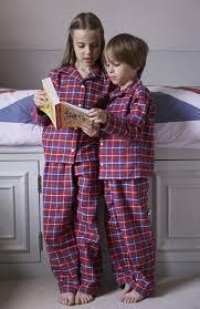 boys brushed cotton pyjamas bonsoir