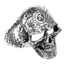 classic skeleton ring holder images Gothic skull rings skeleton rings pewter skull rings and alchemy png