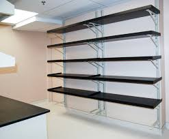 Shelves On Wall by Trend Heavy Duty Wall Mounted Garage Shelving 23 With Additional