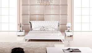 Italian Bedroom Furniture Ebay Furniture Gorgeous Piece Modern Wing Genuine White Leather