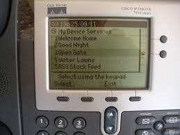 Cisco Desk Phone Communication Cisco Phone Menu Driver