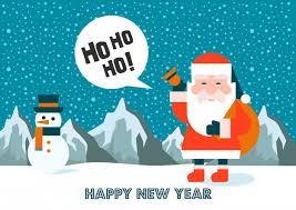 imagenes de santa claus feliz navidad feliz año nuevo feliz navidad inscripción y santa claus tarjeta de