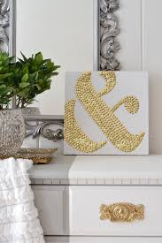 home interior stunning diy wall art design ideas with gold