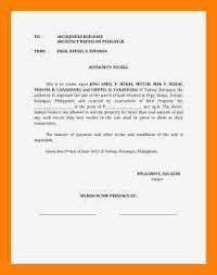 6 authorization letter sample tagalog biodata sample