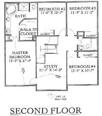 second story floor plans two story floorplans