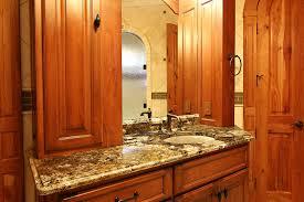Vanity With Granite Countertop Bathroom Granite Countertop Single Vanity