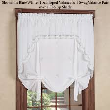 Tie Up Curtain Shade Forget Me Not Tie Up Shade