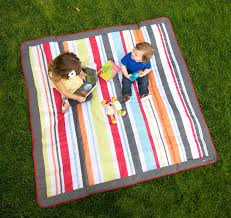 Outdoor Blanket Target by Amazon Com Jj Cole Outdoor Blanket Gray Red 5 U0027 X 5 U0027 Nursery