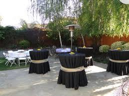 Patio Party Decorations Backyard Arrangement For Graduation Party Google Search