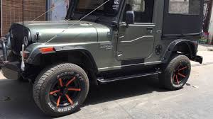 mahindra jeep classic modified mahindra thar modified by g r customs punjab youtube