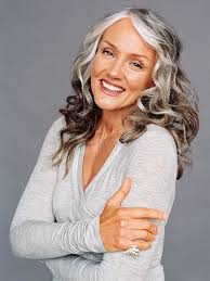 women in forties and grey hair 256 best gray hair images on pinterest grey hair white hair and