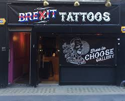 free brexit tattoos being offered today in london pr examples