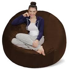 Big Joe Dorm Bean Bag Chair Amazon Com Sofa Sack Bean Bags Bean Bag Chair 5 Feet