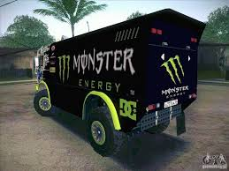kamaz master 4911 monster energy gta san andreas