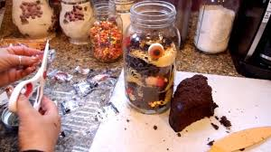jus4sweetz halloween dirt cake in a jar youtube