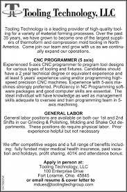 programmer general labor tooling technology llc