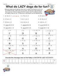 slope of a line worksheets point slope practice engaging puzzle activity equation