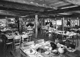canoe island lodge a favorite vacation spot for decades the the dining room at the canoe island lodge is ready for vacationers during the 1940s