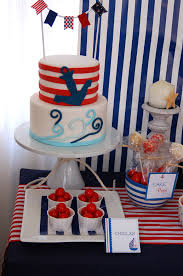 Nautical Party Theme - nautical birthday party u2013 a to zebra celebrations