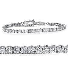 diamond bracelet white gold images 4ct diamond tennis bracelet 14k white gold 7 quot jewelry jpg