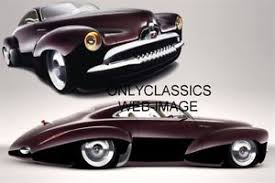 art deco rod car photo streamlined chopped sleek lowered