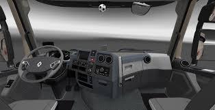 renault 4 interior renault t new interior v6 0 1 25 x 1 26 x truck ets2 mod