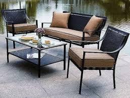 Outdoor Furniture Cushions Walmart by Hometrends Braddock Heights Cushions Walmart Replacement Cushions